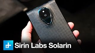 The un-hackable $14,000 smartphone: Sirin Labs Solarin