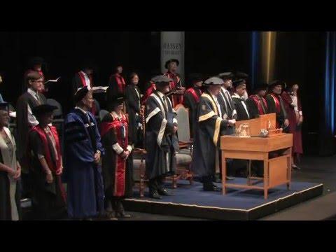 Graduation April 2016 - Auckland - Ceremony 2 | Massey University