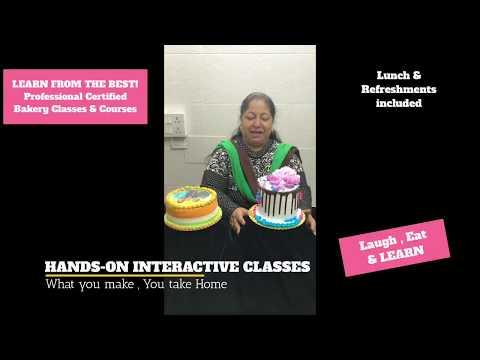 Best Bakery Courses in Delhi | Learn Fondant  Decoration Delhi  | Professional Baking Classes Delhi