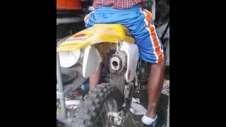 Starting a 80cc dirt bike