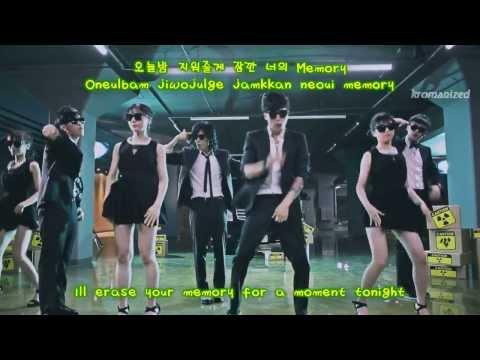 M.I.B / Men In Black -- Dash (들이대) Romanized/Hangul/English Subs