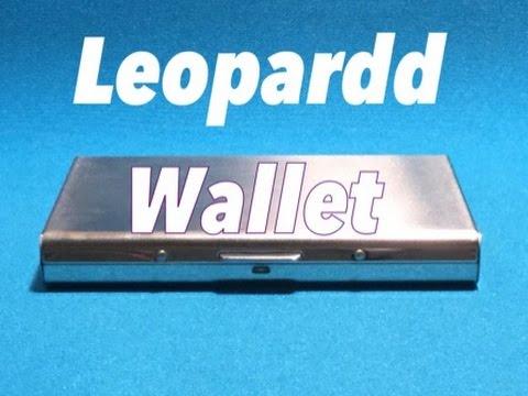 ALUMINUM WALLET - Future wallet
