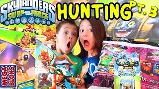 Skylanders Swap Force Hunting: Legendary Quick Draw Zoo Rattle Shake Lou (pt. 3) + Unboxing Gameplay