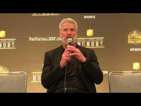 Brett Favre Discusses Ken Stabler @ NFL Honors
