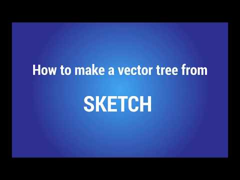 Adobe Illustrator Tutorial How to Draw a Vector Tree From Sketch thumbnail