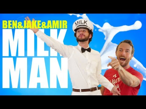 The Milkman (Jake and Amir Ft. Ben Schwartz) on iTunes and SPOTIFY!