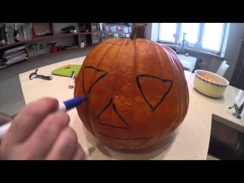 Как вырезать тыкву для Хеллоуина