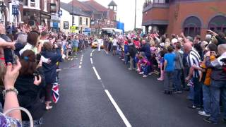 Olympic Torch 2012 - Oldbury, West Midlands.
