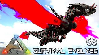 ARK: SURVIVAL EVOLVED - PRIMORDIAL TEK DRAGON NEPHALEM TAMED E68 !!! ( ARK EXTINCTION CORE MODDED )