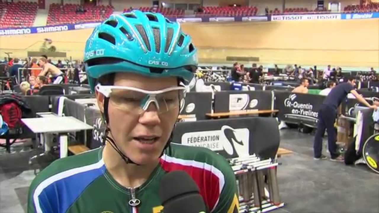 Mondiaux de cyclisme : en immersion avec l'une des plus petites équipes inscrites