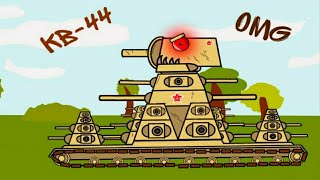СОЗДАНИЕ СОВЕТСКОГО МОНСТРА КВ-44!!! Мультики Про Танки!!!