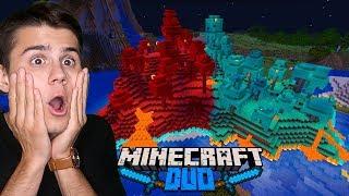 NETHEROWA WYSPA W NORMALNYM ŚWIECIE! (Minecraft DUO)