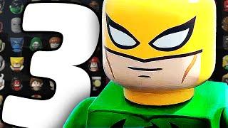 Все Персонажи - LEGO Marvel's Avengers - Часть 3