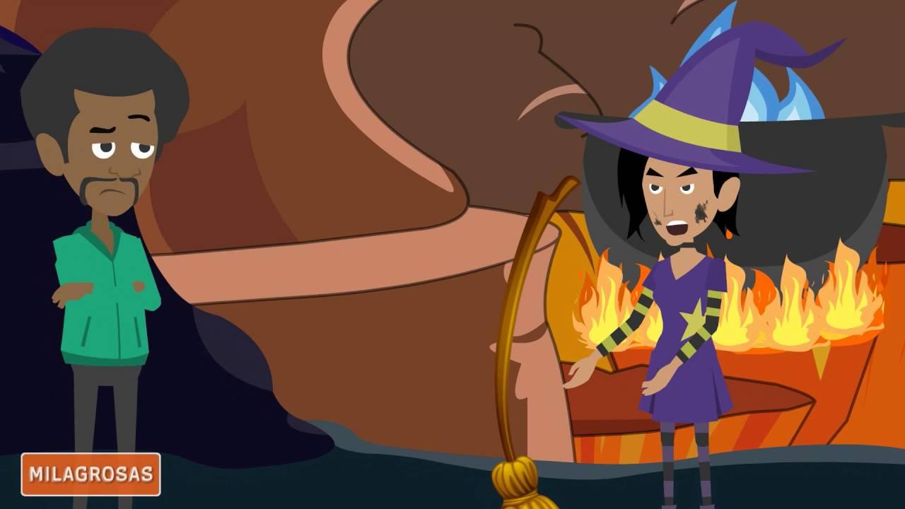 Chistes de brujas   La ranita