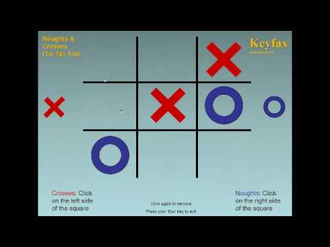 Naughts & Crosses (Tic Tac Toe) - Game Made On PowerPoint - Free To Download And Play