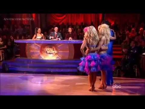 Gilles Marini, Peta Chelsie -Salsa - Trio Dance. from YouTube · Duration:  2 minutes 46 seconds