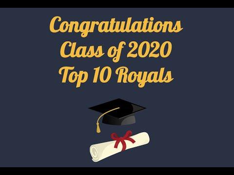 Collegiate High School Top Ten Class of 2020