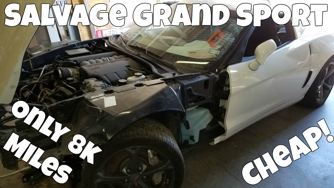 How Much I\'ve Spent on the Salvage C6 Corvette Grand Sport Rebuild ...