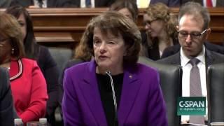 Sen. Dianne Feinstein Cites Women