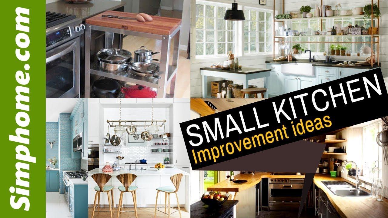 20 Small Kitchen improvement idea - YouTube