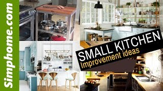 20 Small Kitchen improvement idea