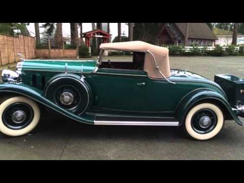 1932 Mclaughlin Buick 96c Roadster - For Sale