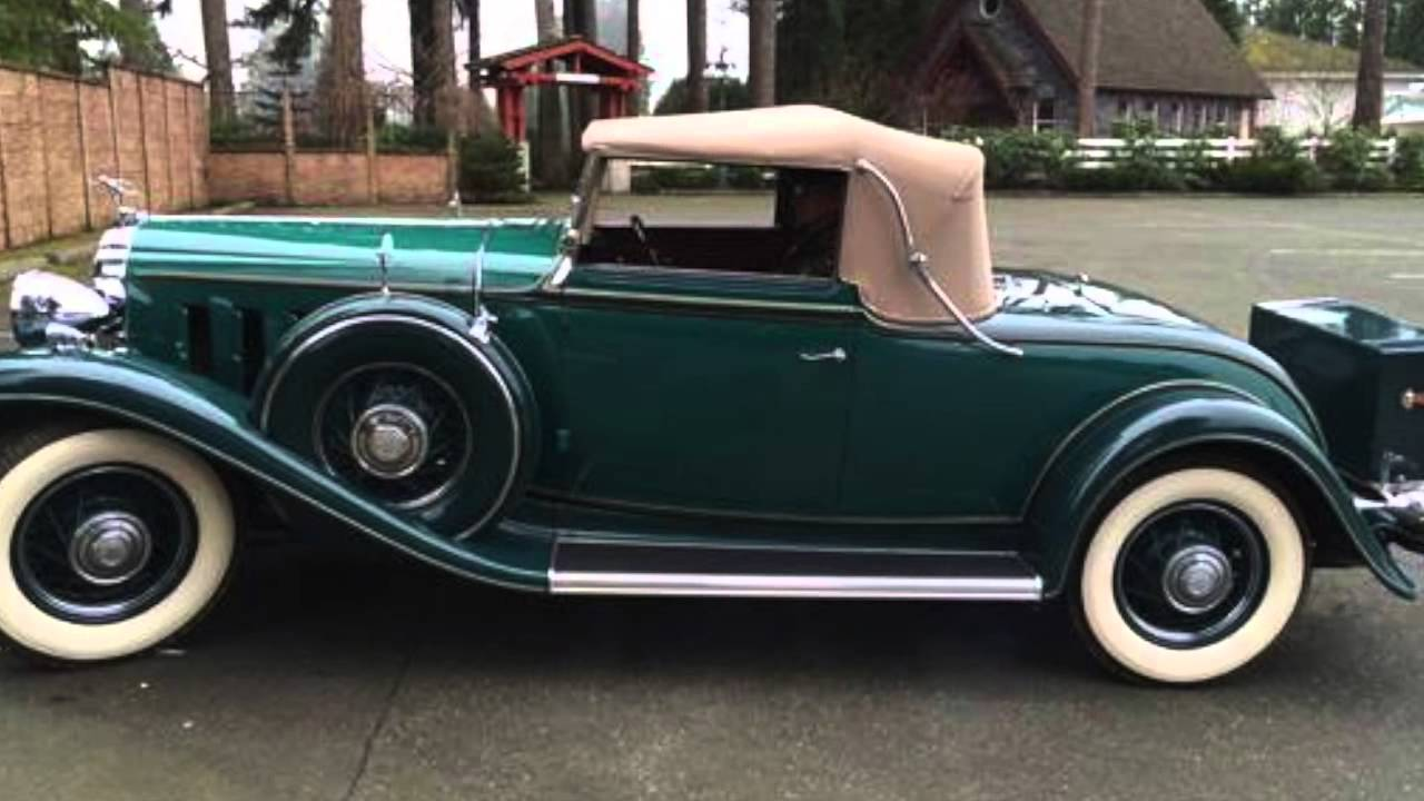 1932 Mclaughlin Buick 96c Roadster For Sale Youtube