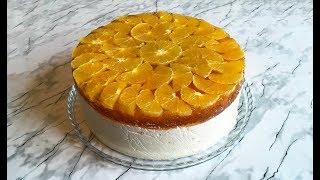 Апельсиновый Торт / Orange Cake Recipe / Торт с Апельсинами / Новогодний Торт (Очень Вкусно)