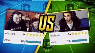 TONY TUBO e GAETANO vs OHM con la FULL ICON da 30 MILIONI!! | FIFA 18 CHALLENGE [ITA]