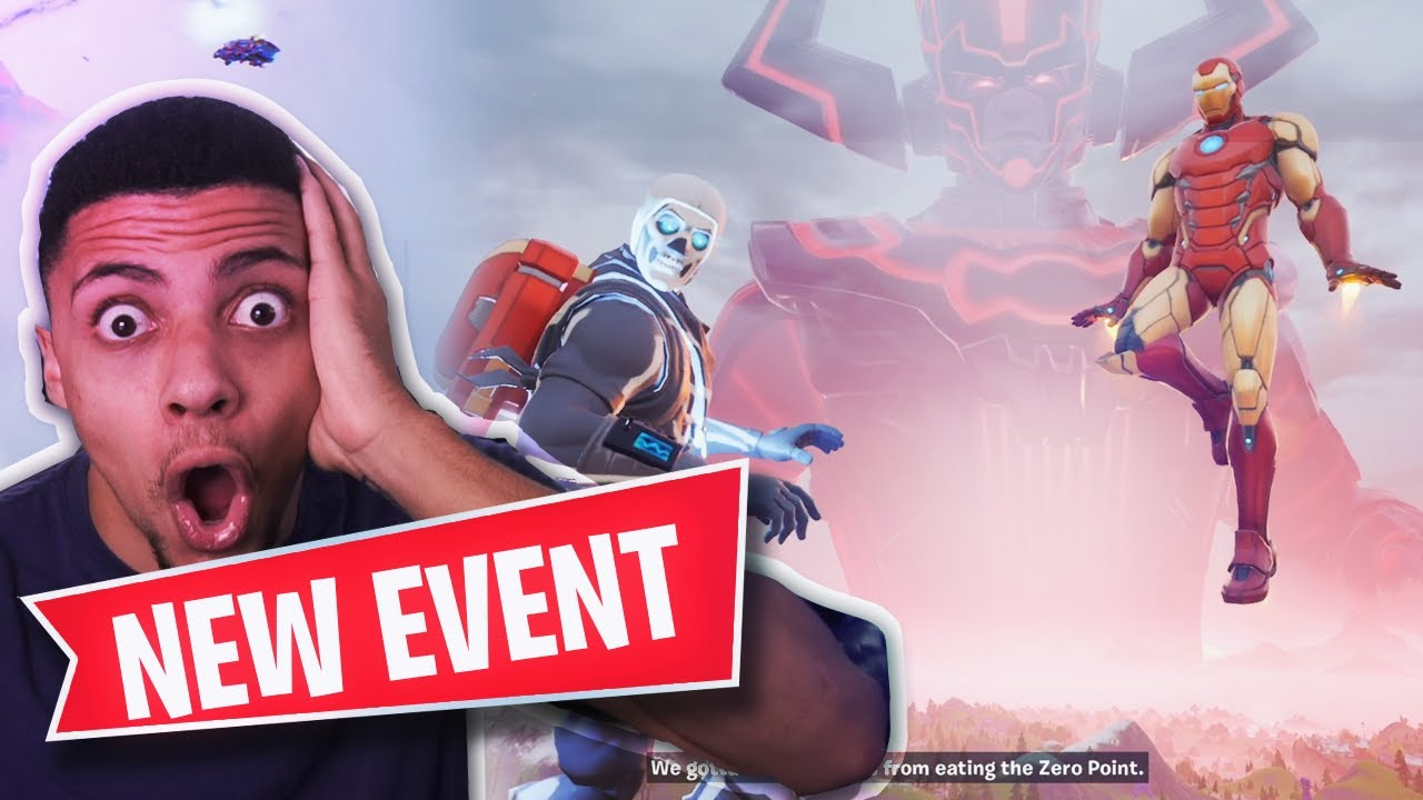 The Galactus event was Fortnite's biggest yet