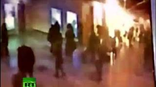 CCTV Video: Moment of explosion caught on tape at Domodedovo airport