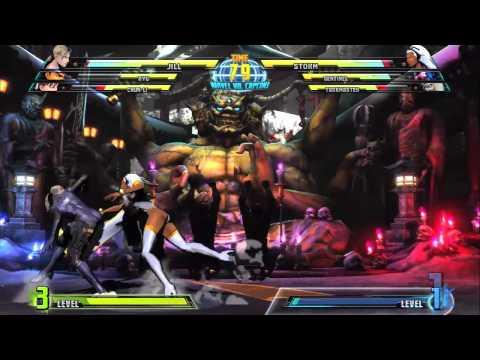 Marvel vs. Capcom 3: Jill Valentine...