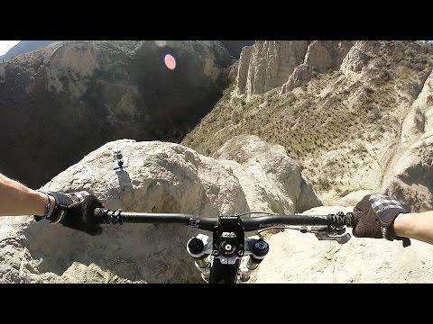 Riding Down Devil's Peak