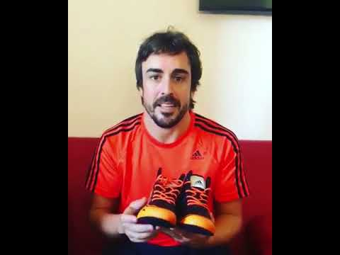 Abastecer Articulación Proceso  Fernando Alonso Competition time! For your chance to win a pair of my race  boots adidas - YouTube