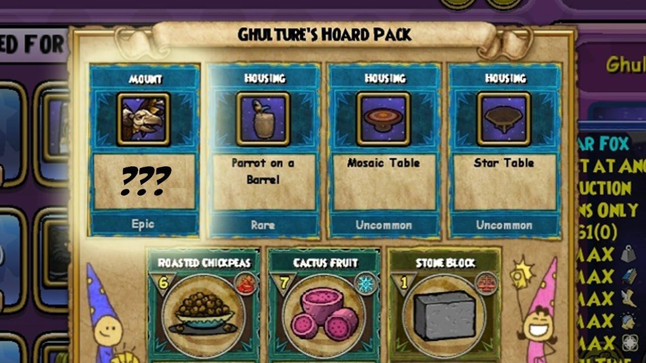 Wizard101 Skyvern Hoard Pack Keyword Data - Related