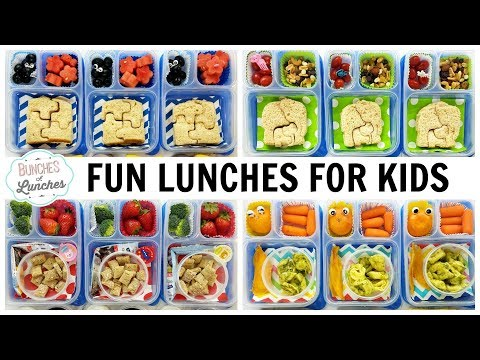 The Kids Pick Their Own Lunches!   JK, K, 1st Grade, 2nd Grade   FUN SCHOOL LUNCH IDEAS