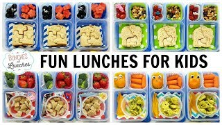 The Kids Pick Their Own Lunches! | JK, K, 1st grade, 2nd Grade | FUN SCHOOL LUNCH IDEAS