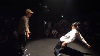 TA-NI- vs ryo BEST16 sweet dream POP SP!! POPPIN DANCE BATTLE