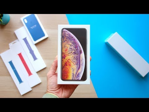 SPAZIALI! — IPHONE XS MAX e APPLE WATCH 4 UNBOXING!