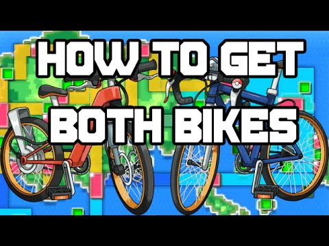 Pokemon Omega Ruby And Alpha Sapphire How To Get Both Bikes Youtube