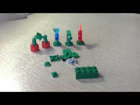 Растения против зомби 2 из lego