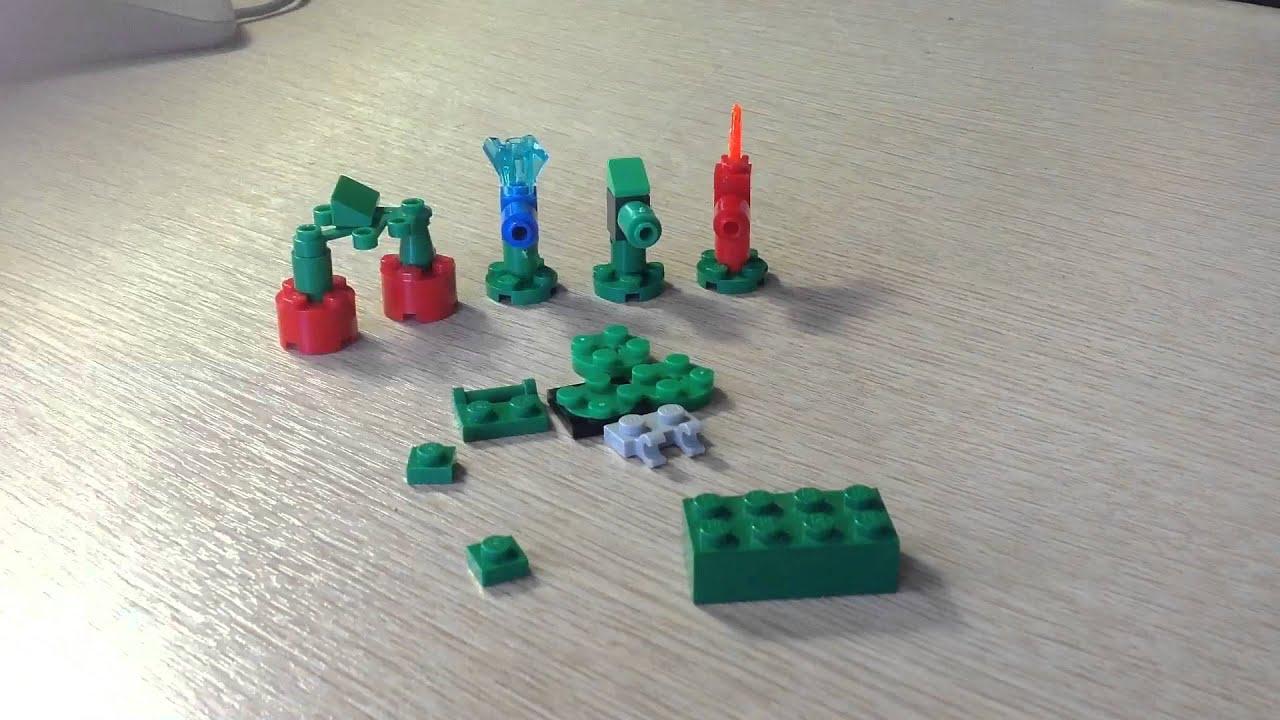 Делаем крутые вещи из LEGO #2 как сделать растения против зомби из .