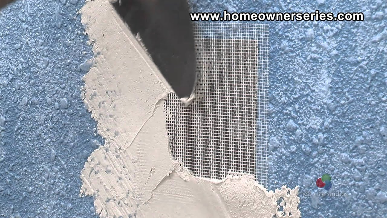 How To Fix Drywall Screen Patch Drywall Repair Youtube