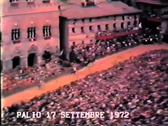 Palio 17 settembre 1972