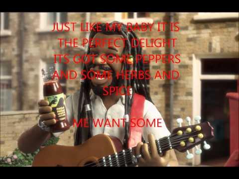 reggae reggae sause advert