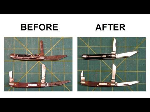 Pocket Knife Restoration