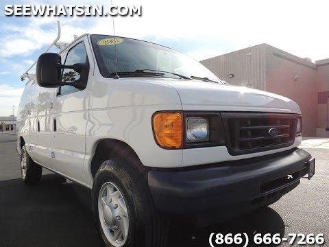 2007 ford e150 e250 like new huge selection cargo vans rh youtube com 2007 Ford E150 Van Specs 2007 Ford Econoline