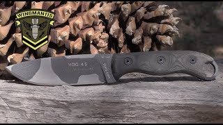 TOPS Knives HOG 4.5 Field Review