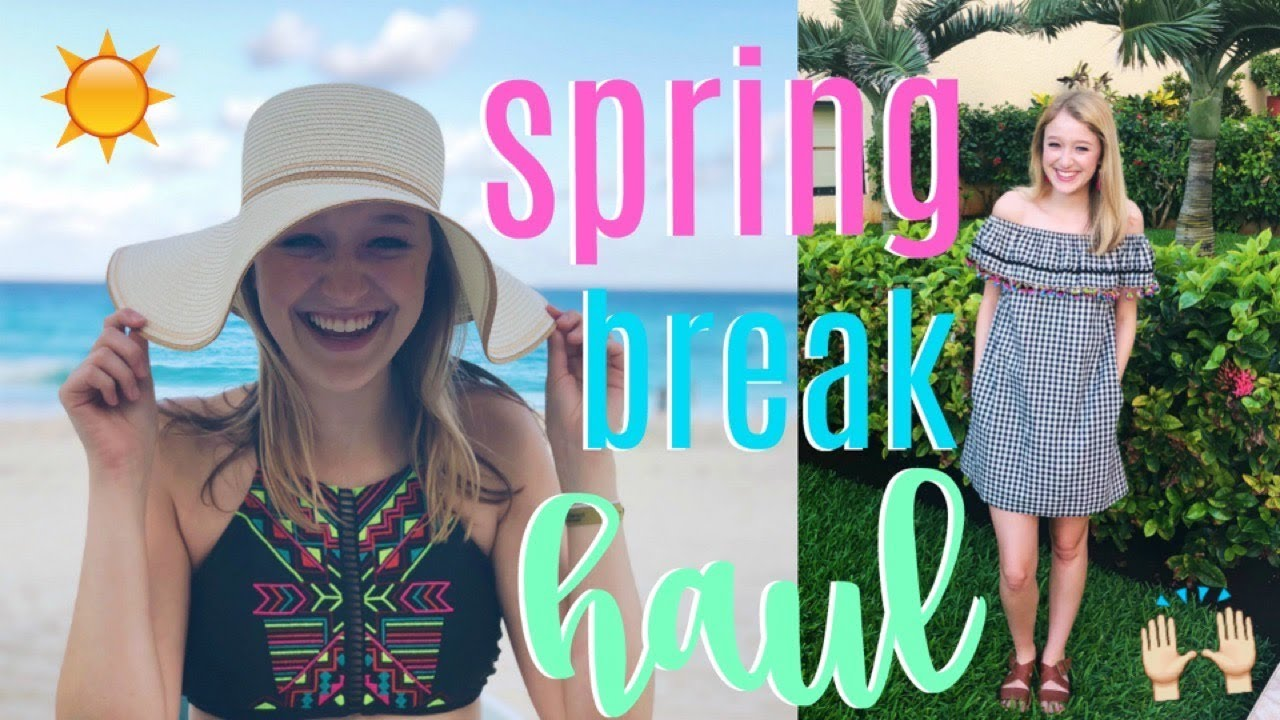 SPRING BREAK HAUL! // Outfits I'm Bringing to Cancún! 8