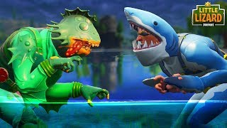 CHOMP SR. VS MOISTY MERMAN *SEASON 5* FORTNITE SHORT FILM